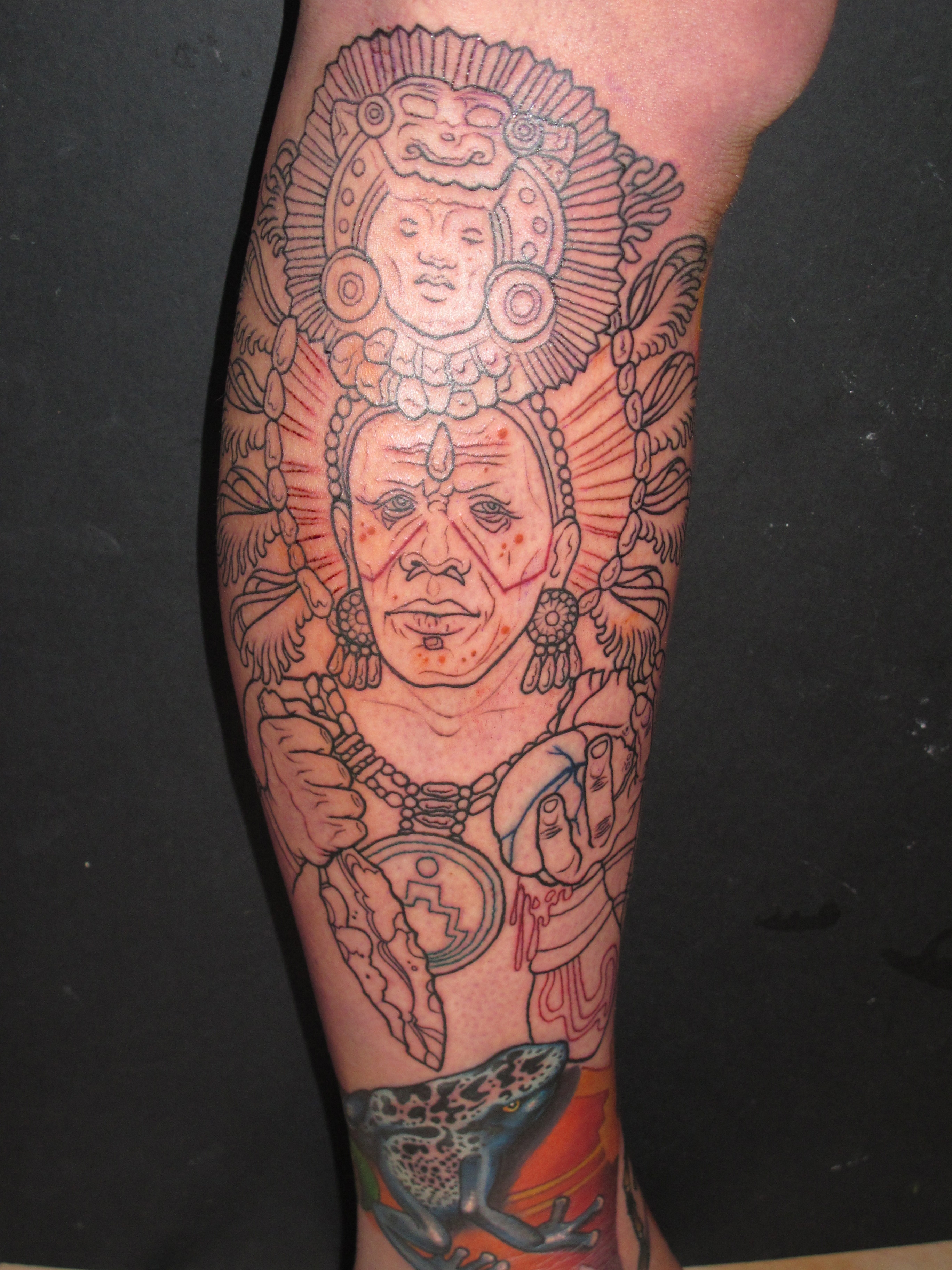 Mayan Arm Tattoo Pictures to Pin on Pinterest